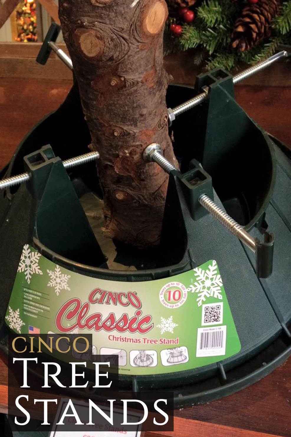 Christmas Tree Stand.Cinco Tree Stands